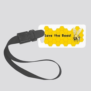 Save the Bees! Small Luggage Tag