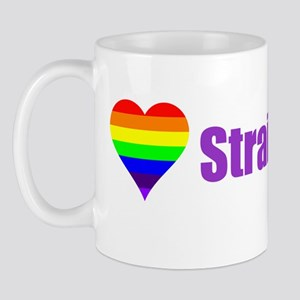 Straight Ally Car Magnet Mug