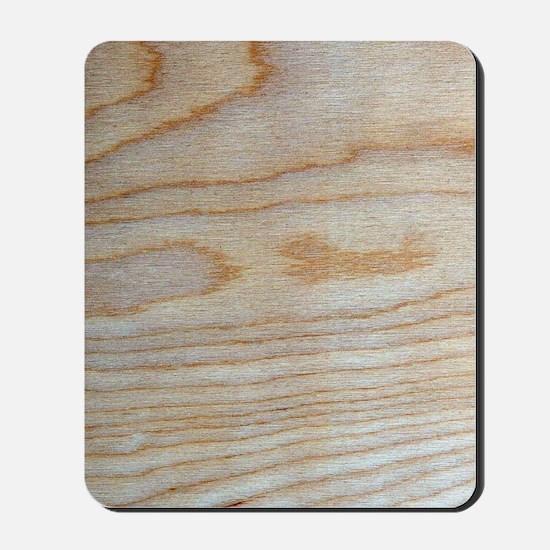Chic Wood Grain Unique Designer Mousepad