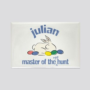 Easter Egg Hunt - Julian Rectangle Magnet