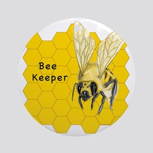 Bee Keeper Round Ornament