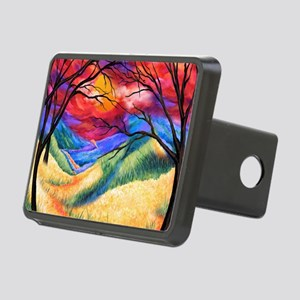 Summer Skies Rectangular Hitch Cover