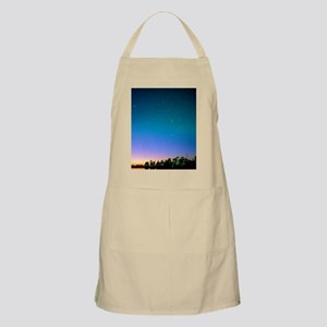 Starry sky over Vancouver, Canada Apron