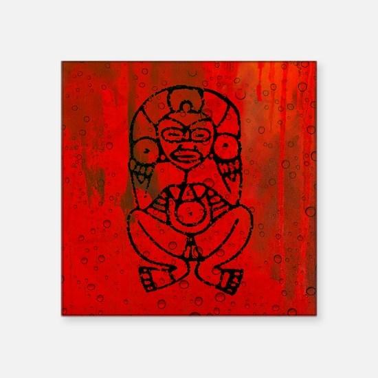 "Atabey, Taino Goddess Square Sticker 3"" x 3"""