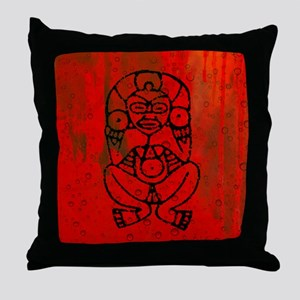 Atabey, Taino Goddess Throw Pillow