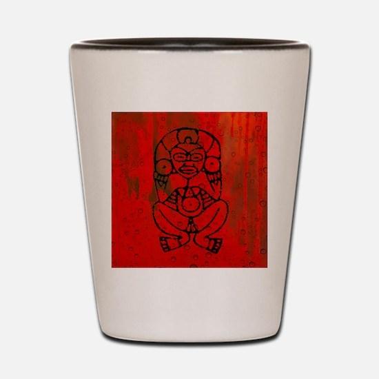 Atabey, Taino Goddess Shot Glass