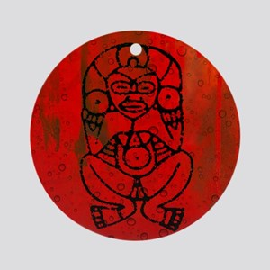 Atabey, Taino Goddess Round Ornament