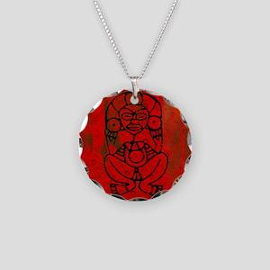 Atabey, Taino Goddess Necklace Circle Charm