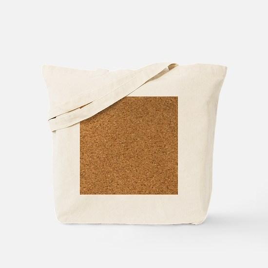 Chic Cork Pattern Unique Designer Tote Bag