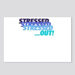 Stressed Postcards (Package of 8)