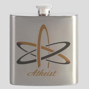 Copper Atheist Flask