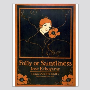 Folly Or Saintliness - Ethel Reed - 1895 - poster