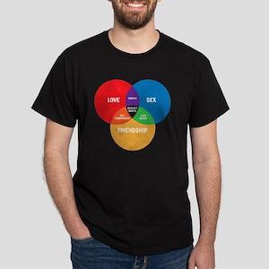 relationship Dark T-Shirt