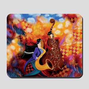 Music Makers Jazz Music Mousepad