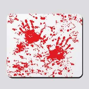 blood stain Mousepad