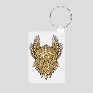 Odin - God of War Aluminum Photo Keychain