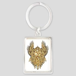Odin - God of War Portrait Keychain