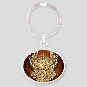 Odin - God of War Oval Keychain