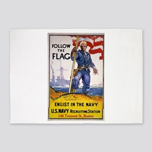 Follow The Flag Enlist In The Navy - James Daugher