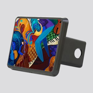 The Music Players Rectangular Hitch Cover