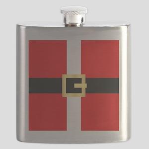 Santa Suit Flask