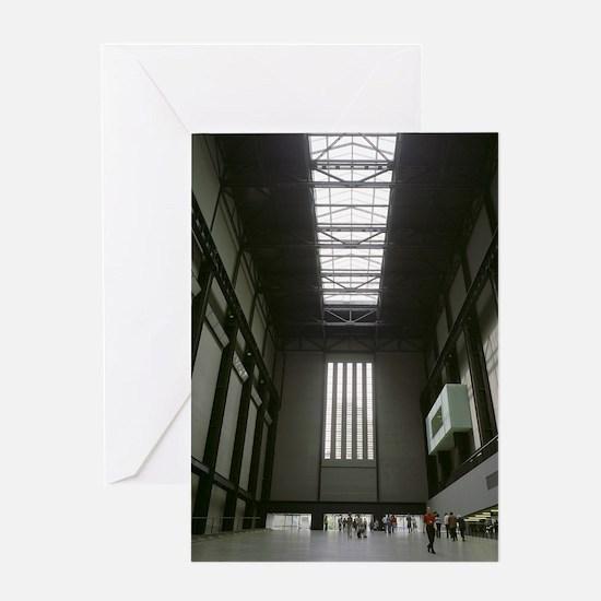 Tate Modern art gallery Greeting Card