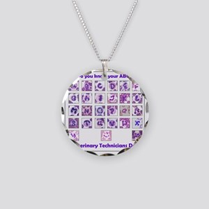 Do You Know Your ABC's? Necklace Circle Charm