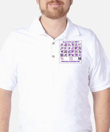 Do You Know Your ABC's? Golf Shirt