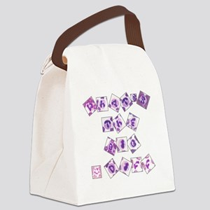 What's The Big Diff Canvas Lunch Bag