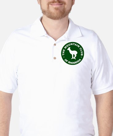 Rhodesian Mountain Club green Golf Shirt