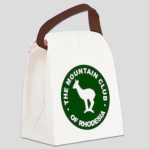 Rhodesian Mountain Club green Canvas Lunch Bag