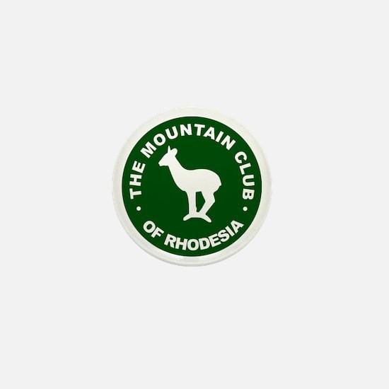 Rhodesian Mountain Club green Mini Button