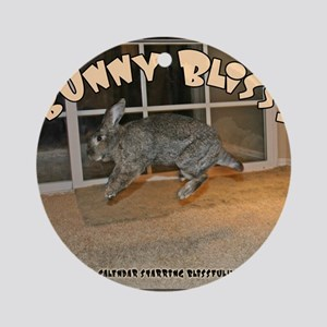 Cover - Bunny Bliss Round Ornament