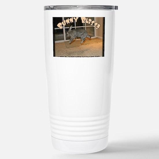 Cover - Bunny Bliss Stainless Steel Travel Mug