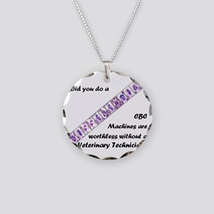 CBC Machines Are Worthless.. Necklace Circle Charm