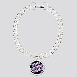 Vet Techs Rock Charm Bracelet, One Charm