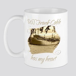 USS FRANK CABLE Mugs