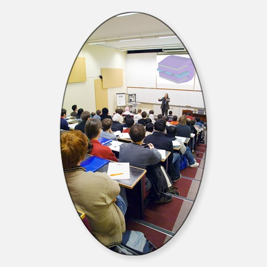 University lecture Sticker (Oval)