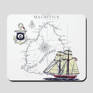 Mauritius Boat Mousepad