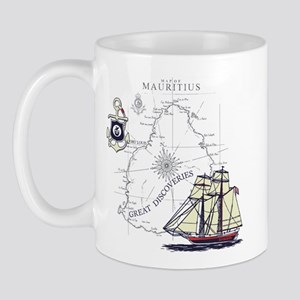 Mauritius Boat Mug