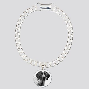 German Shorthaired Point Charm Bracelet, One Charm