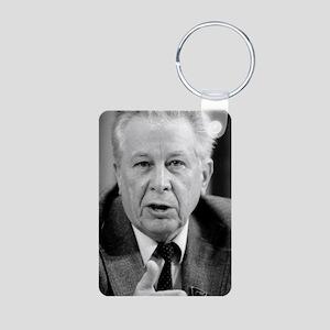 Vladimir Lapygin, Soviet r Aluminum Photo Keychain
