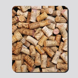 Wine bottle corks Mousepad
