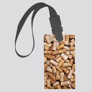 Wine bottle corks Large Luggage Tag