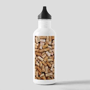 Wine bottle corks Stainless Water Bottle 1.0L