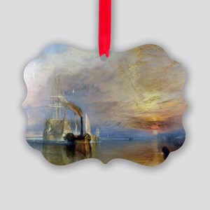 William Turner The Fighting Temer Picture Ornament