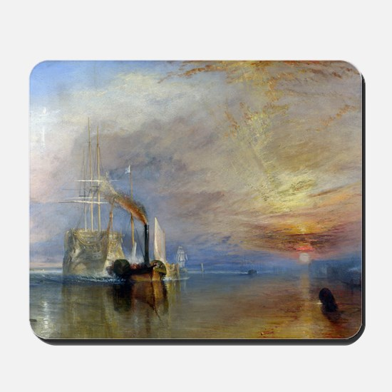 William Turner The Fighting Temeraire Mousepad