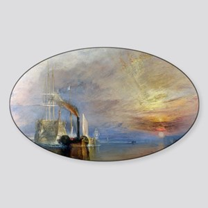 William Turner The Fighting Temerai Sticker (Oval)