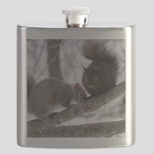 Black Squirrel Flask