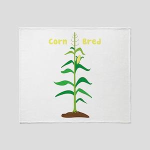 Corn Bred Throw Blanket
